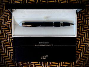 Montblanc 105657 Starwalker Midnight Black Resin Ballpoint Pen NEW IN BOX
