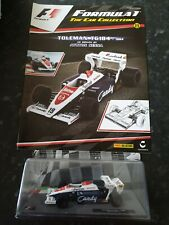 New listing F1 formula 1 car collection issue 8 Toleman TG184 Ayrton Senna 1984