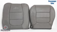 2003 Ford F150 Lariat Step Side -Passenger Complete Leather Seat Covers GRAY