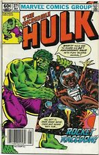 Incredible Hulk #271 - VF MInus - 1st Full Appearance of Rocket Racoon