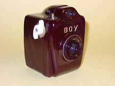Bilora Boy Luxus - red bakelite camera in extremely good condition!