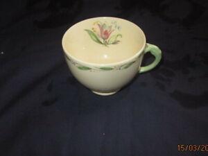 NEW HALL VINTAGE TEA CUP PRE 1930TIES ROMNEY PATTERN NO 1214