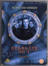 dvd Cofanetto STARGATE SG.1 Season Stagione 1 Versione inglese Contiene 5 Dischi