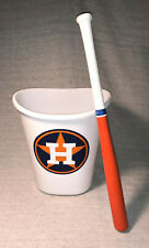 Houston Astros Trash Can & Bat ~ Percussion Cheating Device for Bathroom or Work
