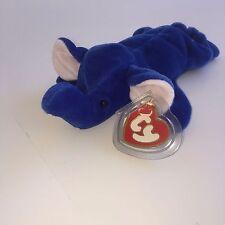 Super Rare royal blue Peanut beanie baby