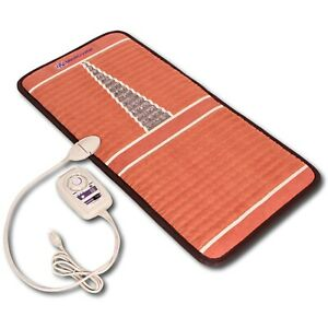 MediCrystal FIR Amethyst Mat - Negative Ion - Infrared Heating Pad - Chair 20x40