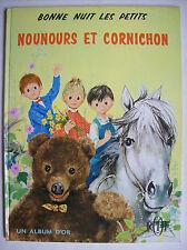 Nounours et Cornichon ORTF 1965 bonne nuit les petits Pimprenelle Nicolas