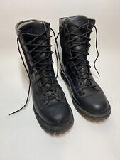 ROCKY FQ0002080 Portland Lace-To-Toe Waterproof Public Service Boots Size: 10M