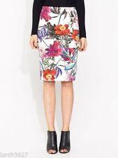 Portmans Cotton Blend Straight, Pencil Regular Skirts for Women