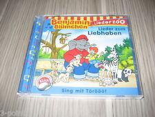 CD Benjamin Blümchen Liederzoo Lieder zum Liebhaben