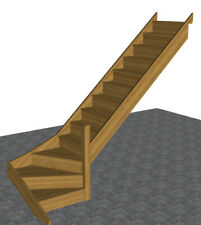Oak Staircase > 3 Kite Winder Stair - * SPECIAL OFFER * Limited Time - Fast T/A