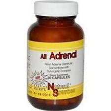 Adrenal, All Adrenal, 60 Capsules, Natural Sources, 24Hr Dispatch