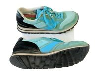 Brooks Womens US 7.5 EUR 38.5 Blue Black Tennis Shoes