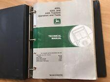 John Deere 4055 4255 4455 Tractor Factory Technical Operation Test Manual Tm1459