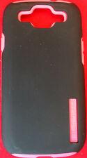 Incipio Dual Protection Silicrylic Case for Samsung Galaxy SIII S3 Black w/Pink