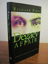 1st Edition DEGAEV AFFAIR Richard Pipes RUSSIA War MILITARY History YALE Spy
