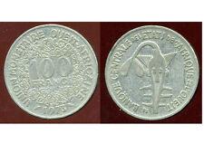 ETATS DE L'AFRIQUE DE L'OUEST  100 francs  1973   ( bis )