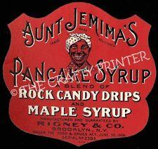 Black Americana MAGNET - AUNT JEMIMA - Maple Pancake Syrup