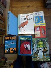 Lot de 6 livres sur les oiseaux -  le monde des oiseaux - colombes tourterelles