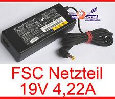 19v 4,22a fuente de alimentación FSC lifebook s7000d s7010 e7110 e8000 t4010 19 voltios 4,2a n18