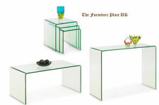 Glass Contemporary Nested Tables without Assembly Required