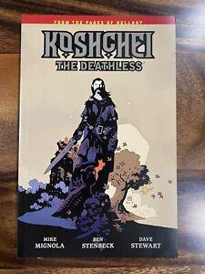 Koshchei The Deathless, Mignola & Stenbeck, Dark Horse Comics TPB GN SC OOP NEW