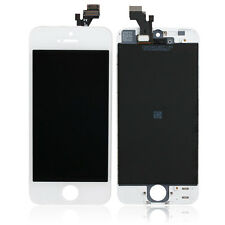 LCD DISPLAY + TOUCH SCREEN DIGITIZER ASSEMBLY per iPhone 5G 5 BIANCO A1428 A1429