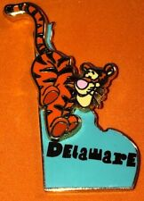 DISNEY WDW 2002 STATE CHARACTER PIN SERIES DELAWARE TIGGER FROM WINNIE THE POOH
