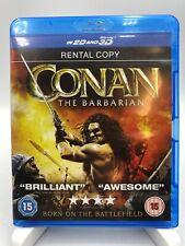 CONAN the Barbarian Blu Ray cert 15 Jason Momoa