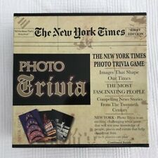 Trivia Game New York Times Photo Trivia. Brand New. First Edition