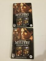 Ultimate Mystery Collection PC DVD Rom Game City Interactive Teen