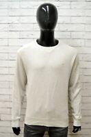 Felpa CAMEL ACTIVE Uomo Taglia Size L Maglia Maglione Sweater Man Cotone Grigio