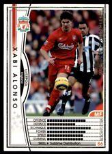 Panini/Sega (Japan) WCCF (2004-2005) Xabi Alonso (Liverpool) No. 45