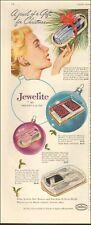 1960 Vintage ad for Jewelite hair brushes`retro photos Christmas  041220