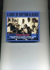 A SHOT OF RHYTHM & BLUES - ETTA JAMES BO DIDDLEY RITH BROWN  - 2 CDS - NEW!!