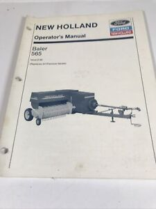 New Holland Operator's Manual 565 Square Baler