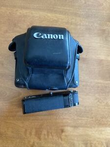 [Canon Power Winder A for Canon AE-1 35mm SLR  w/ Deluxe Leather Camera Case