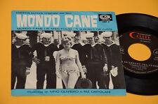 """RIZ ORTOLANI 7"""" 45 (NO LP ) MONDO CANE ORIG ITALY SOUNDTRACK COLONNA SONORA EX"""