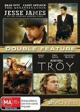 ASSASSINATION OF JESSE JAMES BY THE COWARD ROBERT FORD / TROY (DVD, 2010,...