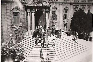 Investiture at Castile Malta . World War 2 photograph