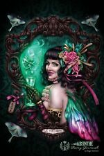 NEW Absinthe Fairy Journal by Brigid Ashwood Paperback Book (English) Free Shipp