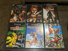 Nintendo GameCube 6 Game Lot Complete Resident Evil Zero BloodRayne Hunter