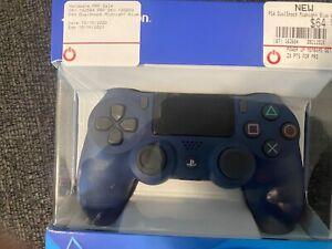 Sony DualShock 4 (3002840) PS4 Wireless Controller - Midnight Blue