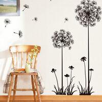 Removable DIY Dandelion Wall Sticker Art Vinyl Decal Mural For Home Room Decor