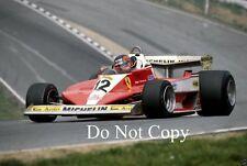 Gilles Villeneuve Ferrari British GP 1978 Photograph