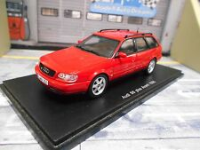 AUDI s6 a6 PLUS Avant Quattro 1996 Red Rosso Station Wagon v8 resin Highend SPARK 1:43