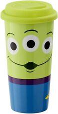 More details for disney pixar toy story 4 lidded porcelain travel mug 16oz