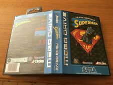 Death Superman SEGA Mega Drive PAL Version - Custom Game - Grade AAA+++