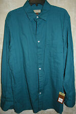 NWT Sonoma Shirt Colors Patterns 0 1 2 Pocket Button-Front Cotton mens