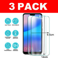 3 Pack Tempered Protective Glass Screen Protector For Huawei P20 Mate 20 TY